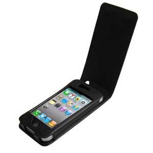 Чехол для iPhone 4 (в низ) - Чехол для Apple iPhone 4.открывается в низ. чергого цвета.  Отлично защитит ваш аппарат от внешних воздействий, попадание грязи, пыли, брызг. Также он поможет при ударах и падениях, смягчая удары, не позволяя образовываться на корпусе царапинам и потертостям. Тем более вам необходим чехол, если вы носите телефон в сумке или кармане с ключами, монетами или другими агрессивными к покрытию предметами.