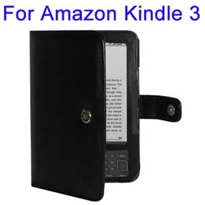 Чехол для  Amazon Kindle 3 (черный) - Чехол к  Amazon Kindle 3 черного цвета, с внутренним карманом. Надежно защищает электронную книгу Amazon Kindle от пыли, грязи , царапин, падений.