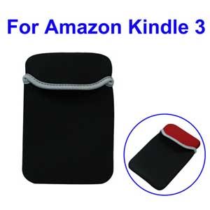 Мешок для  Amazon Kindle 3 - 1) мешок защищает вашу электронную книга от падения и ударов. 2) Симпатичный и модный 3) Цвет: черный 4) Практический и модный аксессуар 5) Простота извлечения