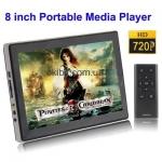 "8"" HD 720P, E-Book фн"