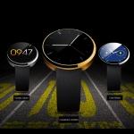 DM 360 - Умные часы с круглым сенсорным экраном, совместимый с Android / iOS, пульсометр, больше чем много функций..