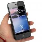 Hero H2000+ (копия iPhone 5) - копия iPhone 5+ емкостный экран+3G+двеSIM+GPS+WIFI+MTK6577