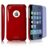 SGP чехол для iPhone 3G/ iPhone 3GS /черный, розовый, красный... - SGP чехол для iPhone 3G/ iPhone 3GS  черный, розовый, красный, голубой,белый. Пленка на экран и тряпочка для протирания В КОМПЛЕКТЕ.