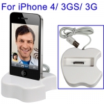 USB зарядка  iPhone4/3g/3gs, iPod - Настольная USB зарядка для iPhone 4 , iPod Nano 6 , iPhone 3G S , iPhone , IPOD Touch 3 , iPhone 3G , iPod Touch , iPod Touch (2nd Gen) , IPOD nano5