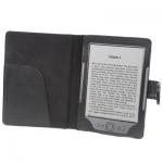 Чехол обложка для Amazon Kindle 4 - Чехол к Amazon Kindle 4 черного цвета, с внутренним карманом. Надежно защищает электронную книгу Amazon Kindle от пыли, грязи , царапин, падений.