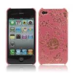 """Чехол для  iPhone 4 / 4S """"золотой цветок"""""""