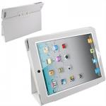 """Кожаный чехол iPad 2/iPad 3 """"книжка"""" белый"""