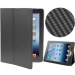 Карбон чехол для iPad 2/iPad 3 Черный  Sleep - Чехол-подставка. Сверху полностью покрыт карбоном , черного цвета. Изнутри выполнен из мягкой кожи  iPad 2/iPad 3   очень плотно сидит в чехле. Предназначен для работы не вынимая планшетный компьютер из чехла.