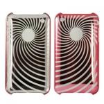 Пластиковый чехол для iPhone 3G / 3GS (красный)