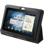 Чехол для Samsung Tab P7300 / (8.9) - Кожаной чехол для Samsung Tab P7300 / (8.9)  черного цвета. Книжка-подставка.