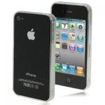 Бампер для iPhone 4/4s ультратонкий - Бампер для iPhone 4/4s ультратонкий. Цвета: черный, прозрачный.