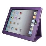 """Кожаный чехол """"книжка"""" iPad 2/iPad 3 Фиолетовый"""