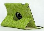 Кожаный чехол (360 градусов) для Ipad 2/3/4 Зеленый - Чехол-подставка. Кожаный чехол (360 градусов) для Ipad 2/3/4 Зеленый