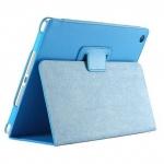 "Кожаный чехол ""книжка"" iPad 2 / iPad Голубой личи"