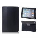 """Кожаный чехол """"книжка"""" iPad 2 / iPad 3  черный"""