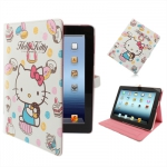 "Чехол iPad2/iPad3 ""Hello Kitty"" белый"