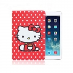 "Чехол iPad2/iPad3/4 ""Hello Kitty"" красный кот"