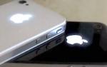 iGlow светящееся яблоко iPhone 4/4S